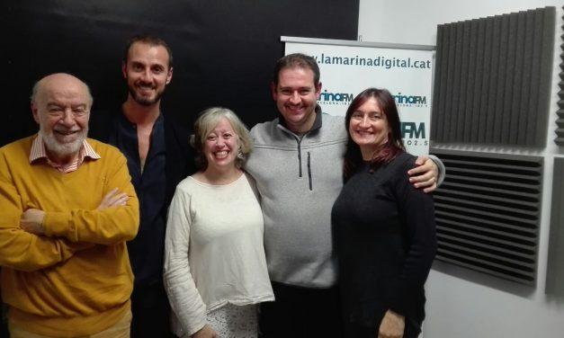 Programa de radio con Rubén Escartín y Josep Fàbregas