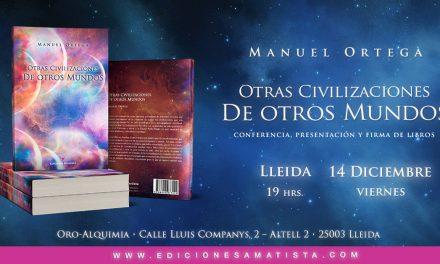 """Conferencia presentación libro """"Otras civilizaciones de otros mundos"""""""