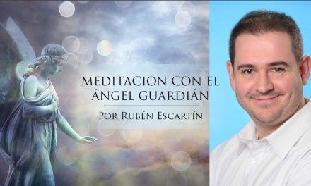 Meditación con el Ángel Guardián – conferencia y práctica energética con Rubén Escartín