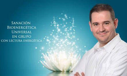 Especial Sanación Bioenergética en grupo temática, con Rubén Escartín