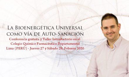 Lima (Perú) – La Bioenergética Universal como vía de Auto-Sanación