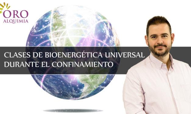 Vídeos de las Clases de Bioenergética Universal durante el confinamiento