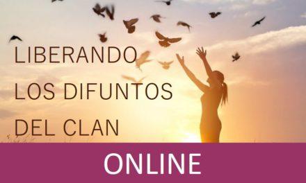 """Taller """"Liberando los difuntos del clan"""" ONLINE (cuando y donde quieras, por internet)"""