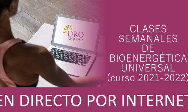 Clases semanales de Bioenergética Universal