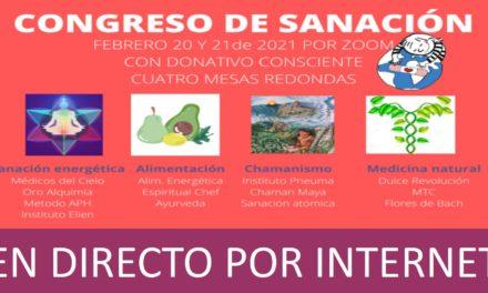 ORO Alquimia en el 1er Congreso on-line de Sanación