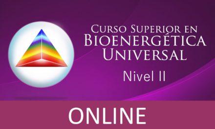 Nivel II – Curso Superior en Bioenergética Universal ONLINE (cuando y donde quieras, por internet)