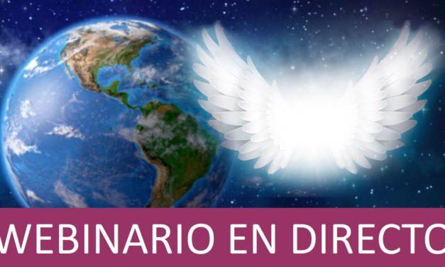 """Curso webinario en directo para América: """"Conectando con tu Ángel Guardián"""""""