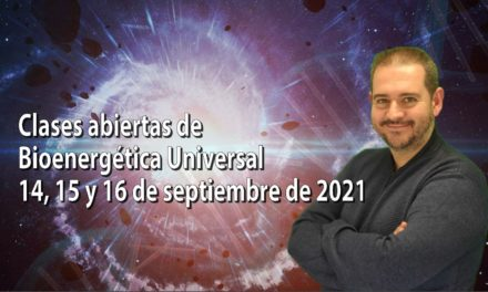 Clases abiertas de Bioenergética Universal (septiembre de 2021)
